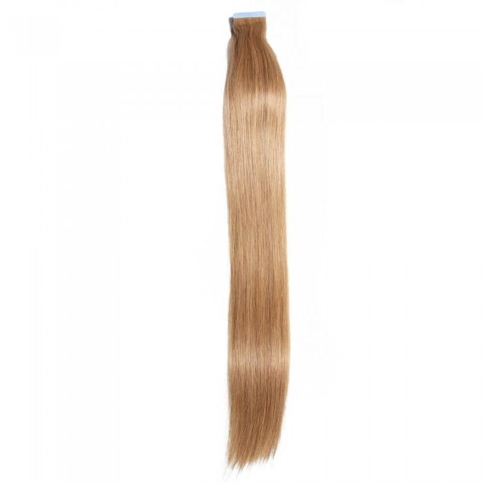 Kriyya Best Tape In Hair Extensions Strawberry Blonde Human Hair Extensions