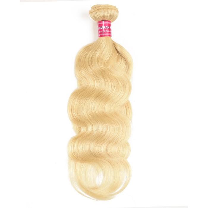 Kriyya Body Wave Bundles 613 Blonde Hair 1 Bundle Human Hair