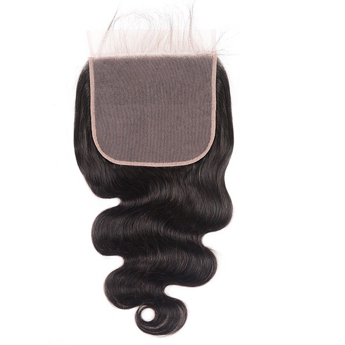 Kriyya Body Wave Unprocessed 100% Human Hair 7x7 Lace Closure With Baby Hair