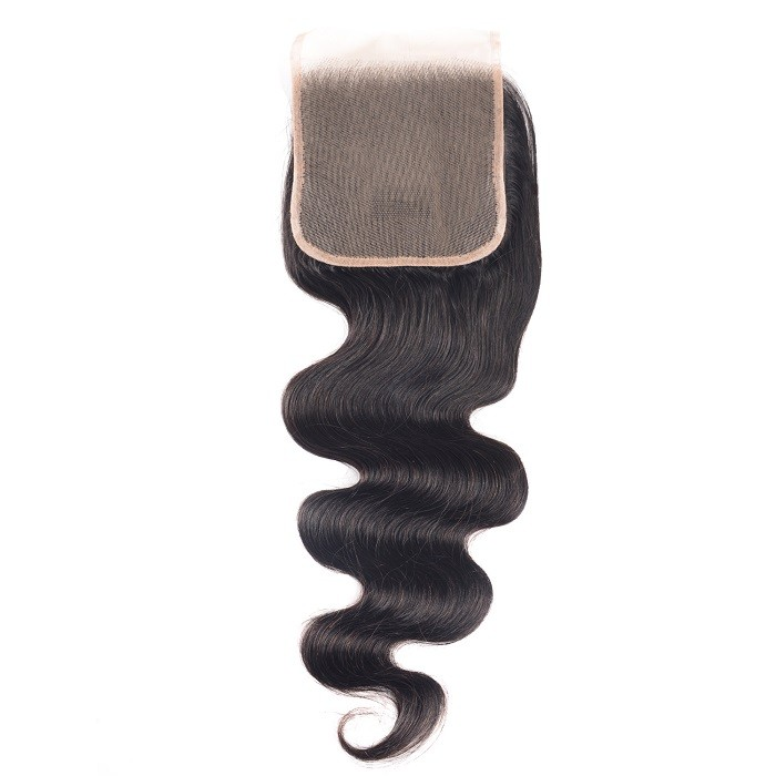 Kriyya Body Wave Unprocessed Human Hair 5x5 Lace Closure Sew In