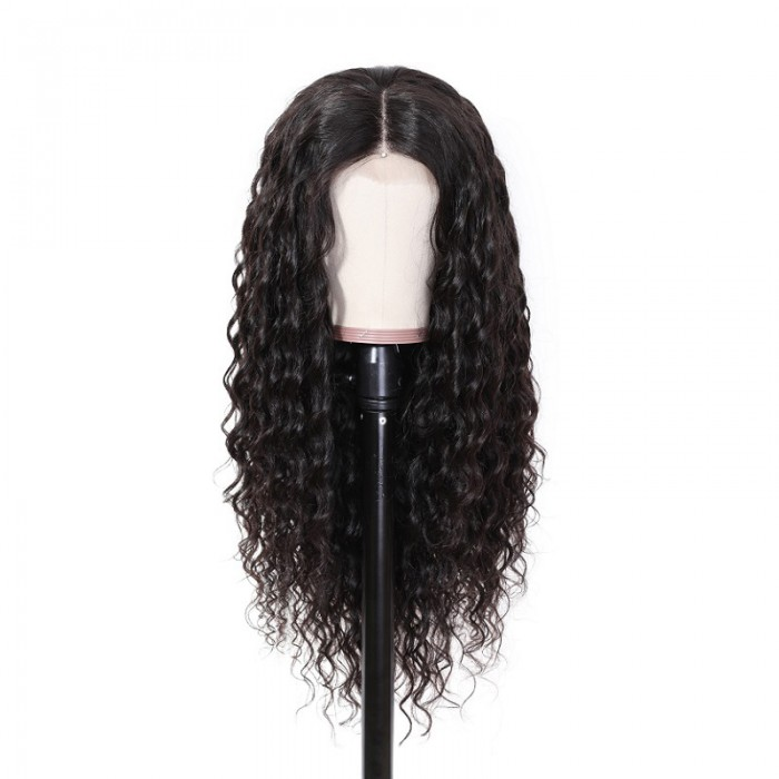 Alice | 13*4 Lace Front Pre Plucked Curly Human Hair Wigs