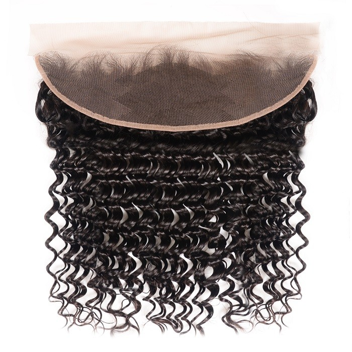 Kriyya Unprocessed Virgin Hair 13x4 Lace Frontal Deep Wave Human Hair