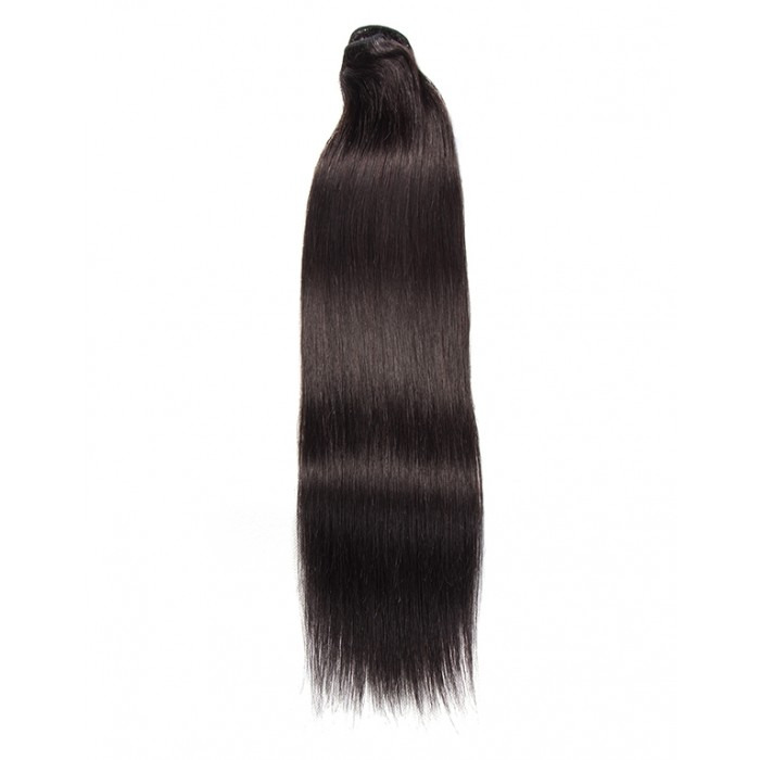 Kriyya 100% Remy Volumizer Hair Weft-Off Black