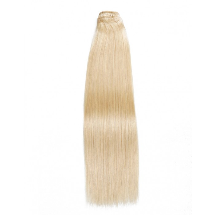 Kriyya 100% Remy Volumizer Hair Weft-Blonde