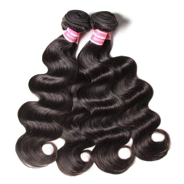 Kriyya Body Wave Hair 4 Bundles Indian Remy Human Hair Weave 9A Virgin Hair