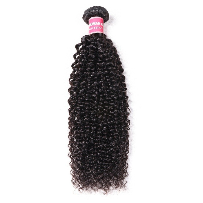 Kriyya Kinky Curly 1 Bundle Human Hair Natural Hair Weave