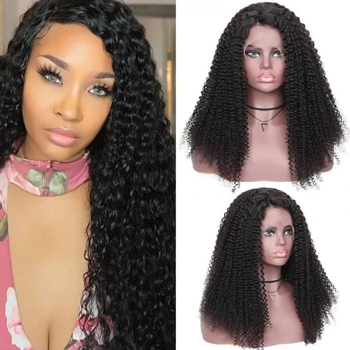 Kriyya Bohemian Human Hair Wig 13x4 Lace Front Wigs 150% Density