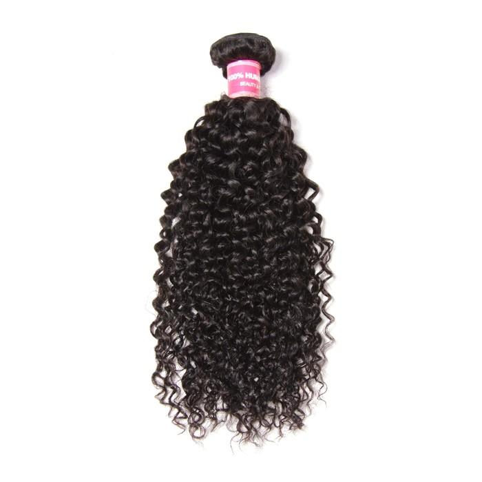 Kriyya Curly Human Hair Weave 1 Bundle 100% Virgin Hair