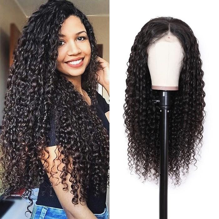 Kriyya Hair Best Full Lace Wig 150% Density Deep Wave Virgin Human Hair Wigs