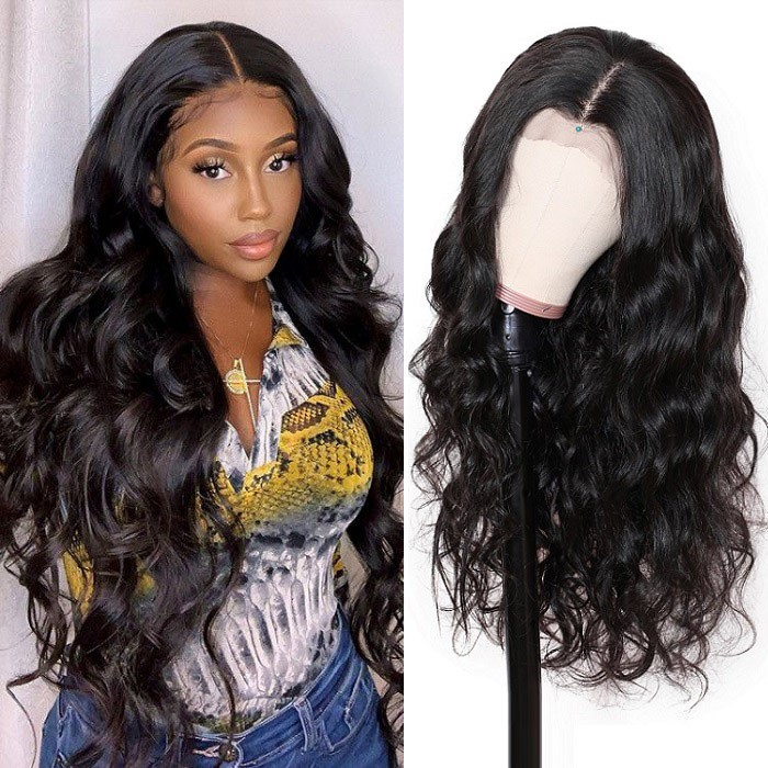 Kriyya Realistic 13x4 13x6 Body Wave Lace Front Wig 180% Density Human Hair Wigs With Baby Hair
