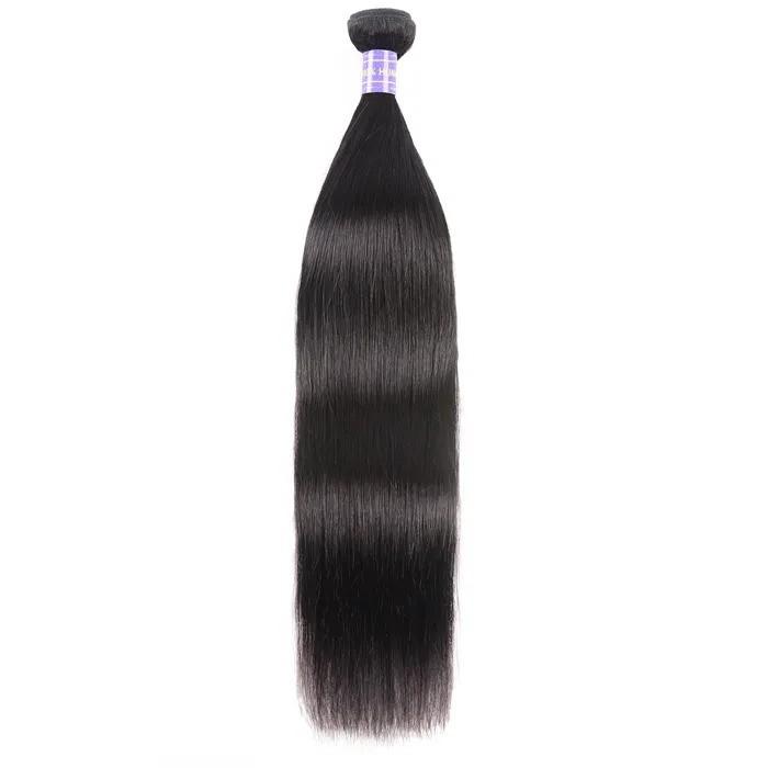 Kriyya Straight Human Hair One Bundle 8-30 Inch