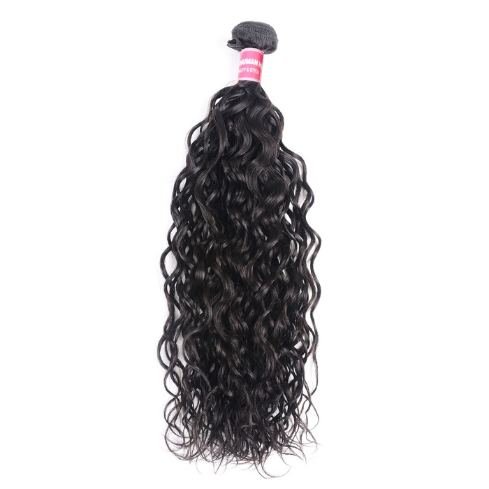 Kriyya Water Wave Hair 1bundle 8-26 Inch Virgin Hair Weave