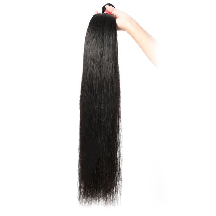 Kriyya Virgin Hair 1Bundle Straight Human Hair Weave