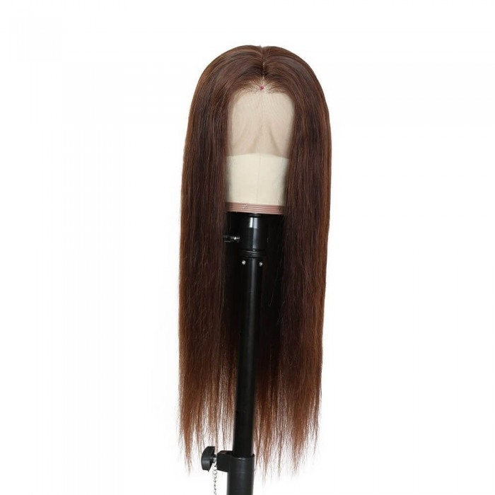 Juliet | Chocolate Brown 13*4 Lace Front Human Hair Wig