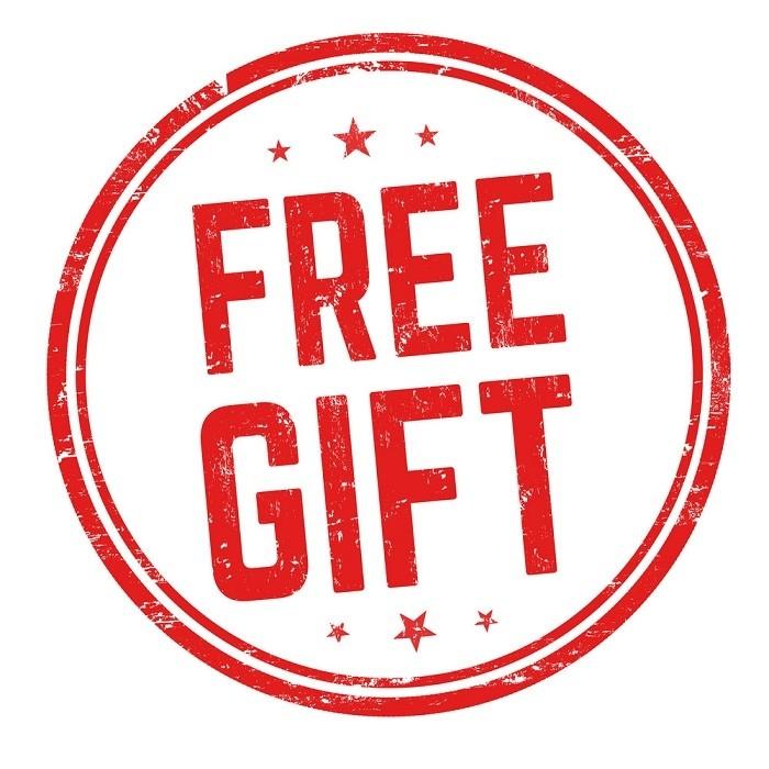 Random 2-3 Free Gift