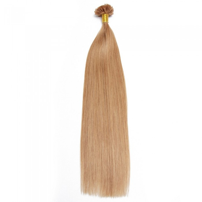 Kriyya Remy U-Tip Hair Extensions 0.5g/s  Glod Blonde Nail Tip Hair