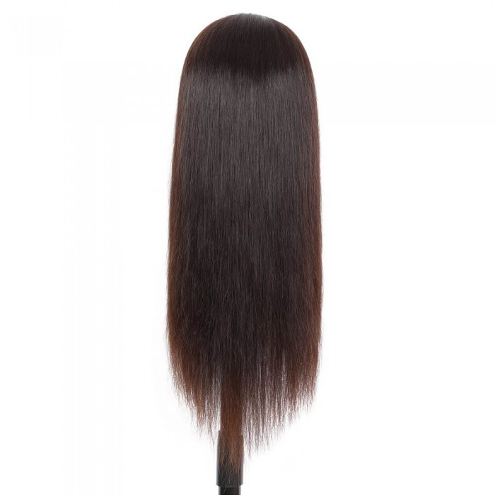 Bertha| Full Lace Dark Brown Pre Plucked Human Hair Wig