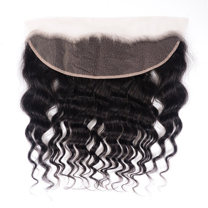 Kriyya Good Quality Natural Wave Virgin Hair Ear to Ear 13x4 Lace Frontal