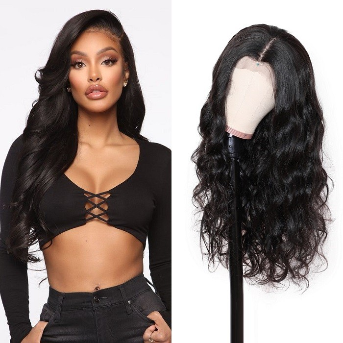 Olivia | 13x6 Lace Front Wigs With Baby hair Body Wave 100% Human Hair Transparent Lace