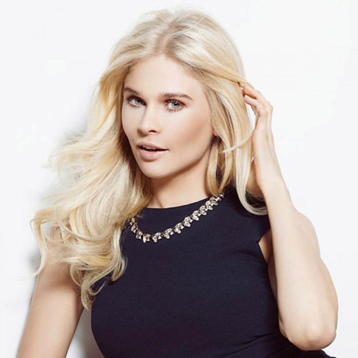 Kriyya 100g Clip Ins 100 Remy Human Hair Platinum Blonde 18-22 Inch Hair Extensions