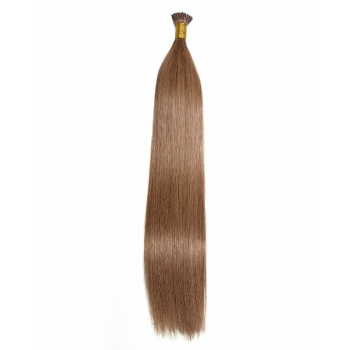 Remy Hair I-Tip Hair Extensions-Micro Series- Light Golden Brown
