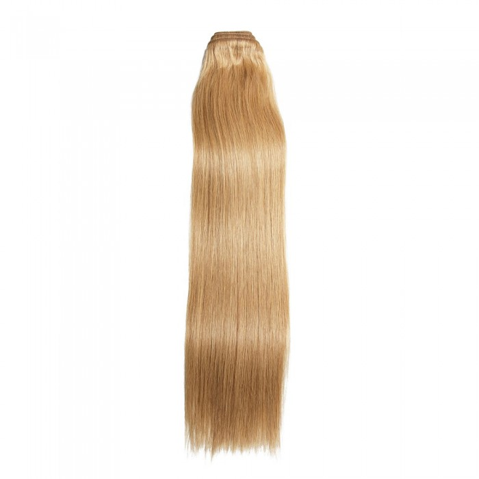 Kriyya 100% Remy Volumizer Hair Weft-Gold Blonde