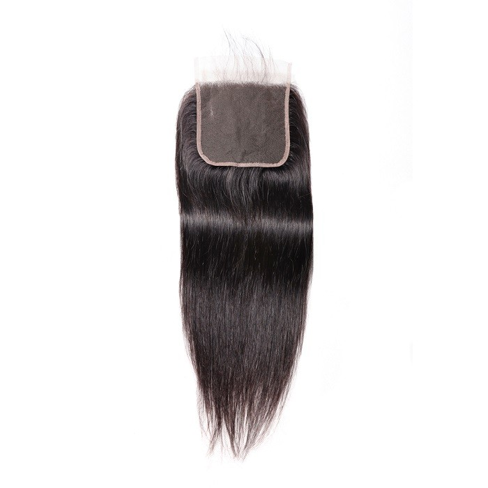 Kriyya Unprocessed Virgin Hair Straight Pre-Plucked 5x5 Lace Closure