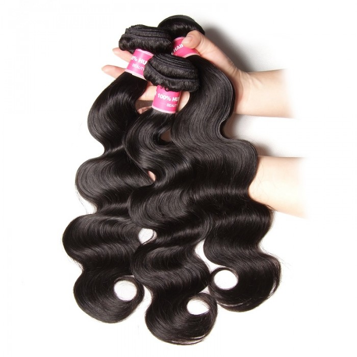 Kriyya 3 Bundles Brazilian Body Wave Hair 100 Human Hair Bundles