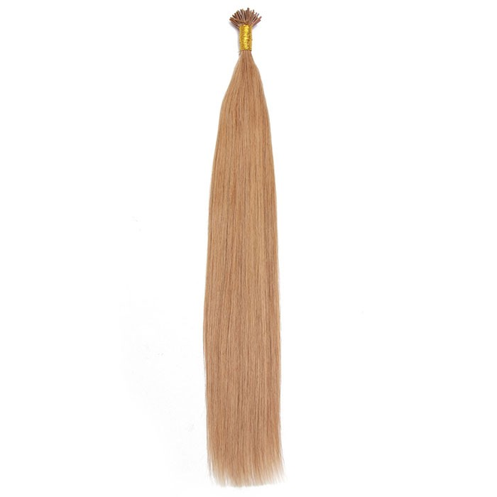 Remy Hair I-Tip Hair Extensions-Micro Series-Gold Blonde