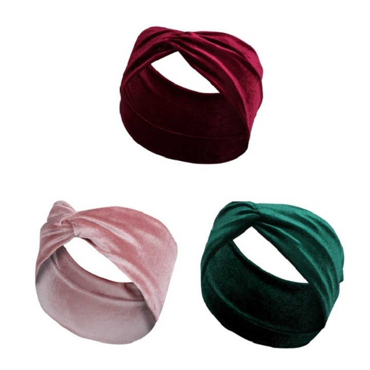 Velet Knot Headband 3 Pack