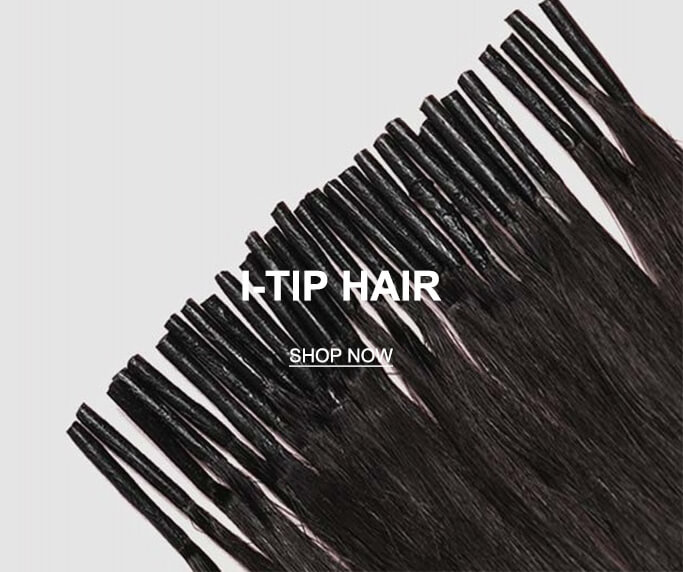Natural Remy Human Hair I Tip Hair Extensions