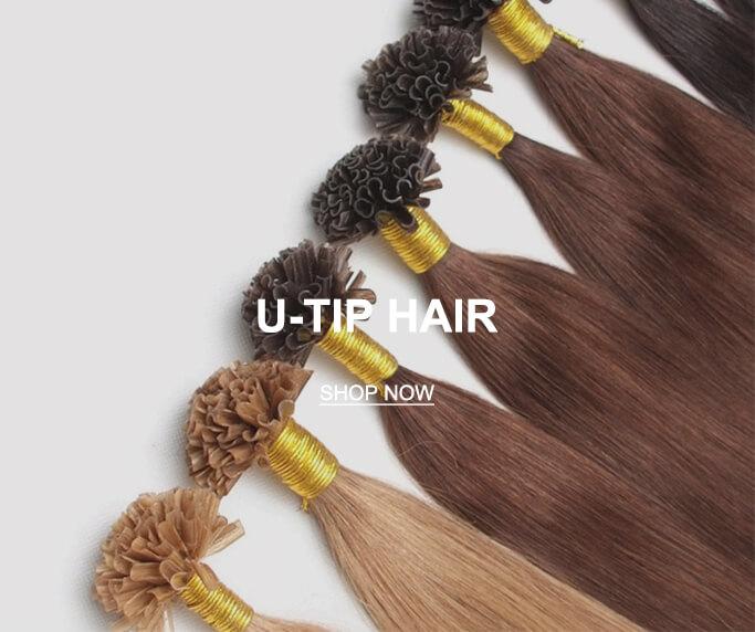 Remy Human Hair U Tup Hair Extensions