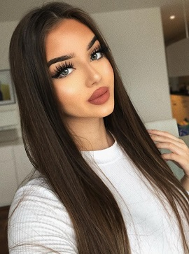 Straight Hair With Lace Closure