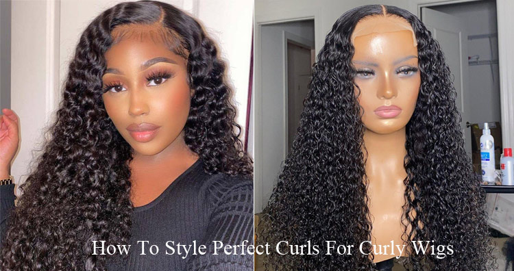 How To Style Perfect Curls For Curly Wigs