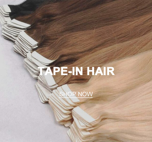 Tape-in Hair Extensions Collection