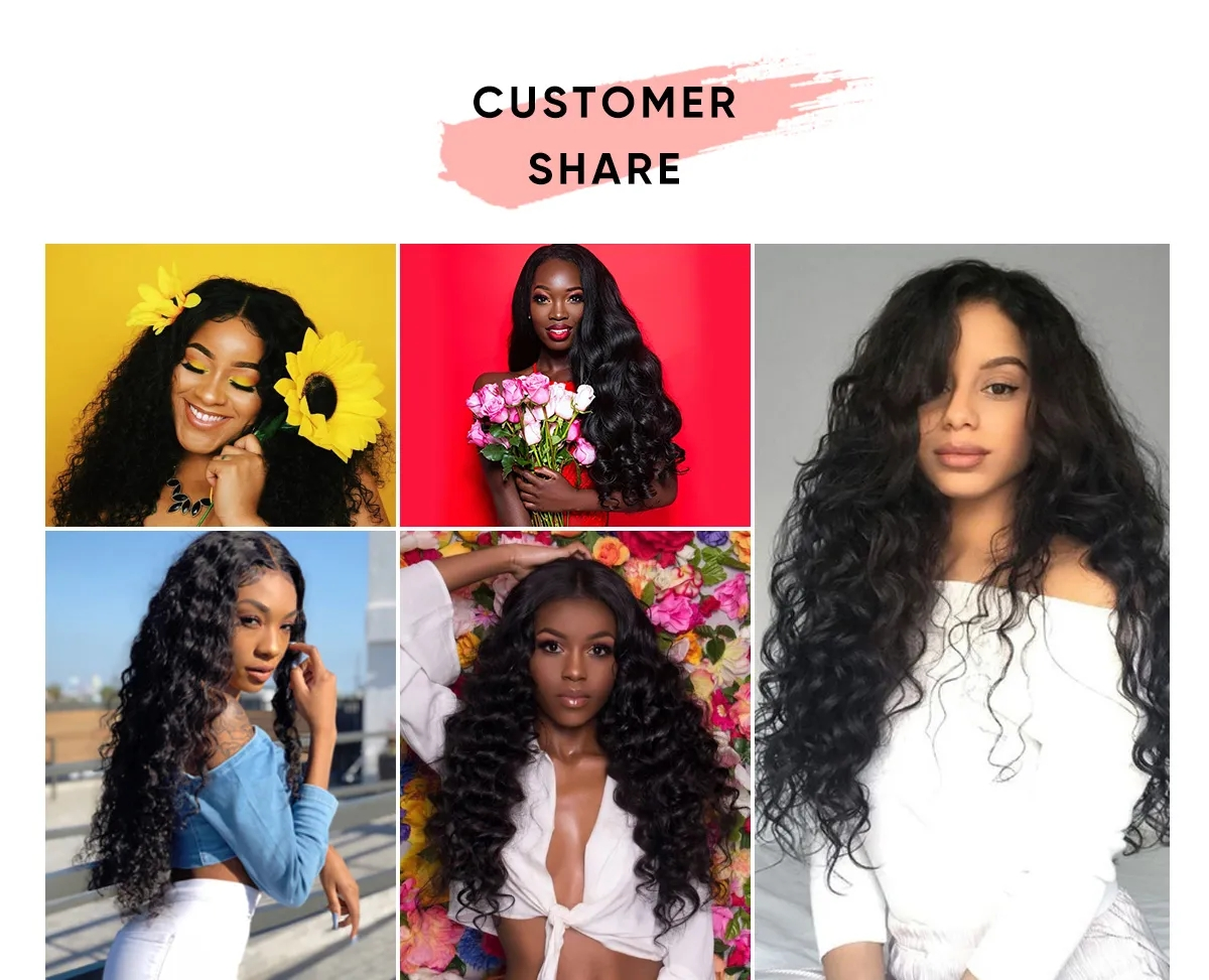 Brazilian Virgin Hair 4 Pcs Straight Bundles