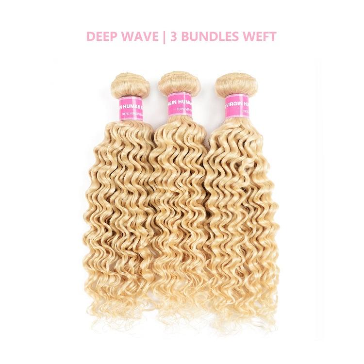 Deep Wave Weave 613 Human Hair