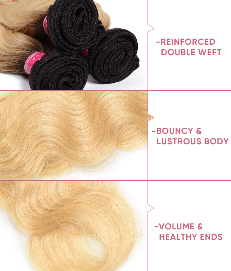 4 Bundles Body Wave Hair With 4x4 Lace Closure