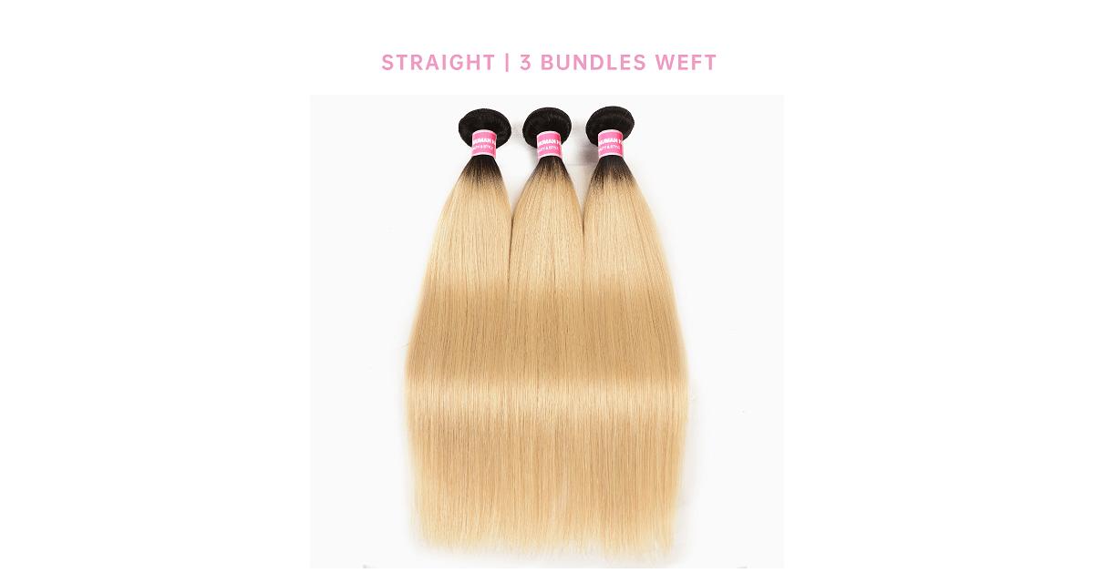Straight Cheap Hair Bundles 3 Pcs Virgin Hair
