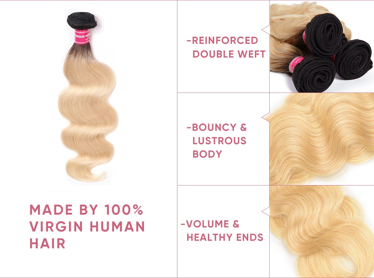 3 Bundles Body Wave With Closure Deal