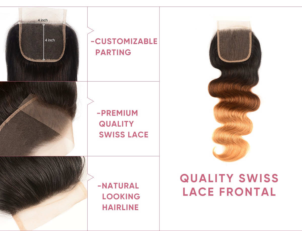 Body Wave 4 Bundle Deals With Closure