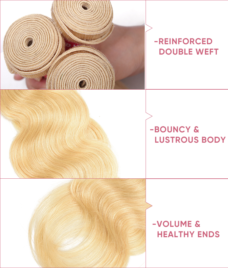 4 Bundles Human Hair With 13x4 Lace Frontal