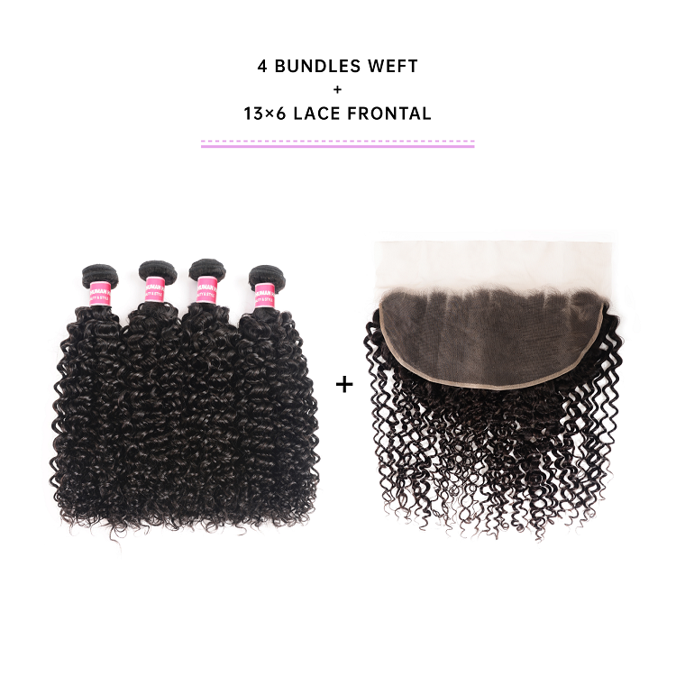 Cheap Bundles With 13x6 Lace Frontal
