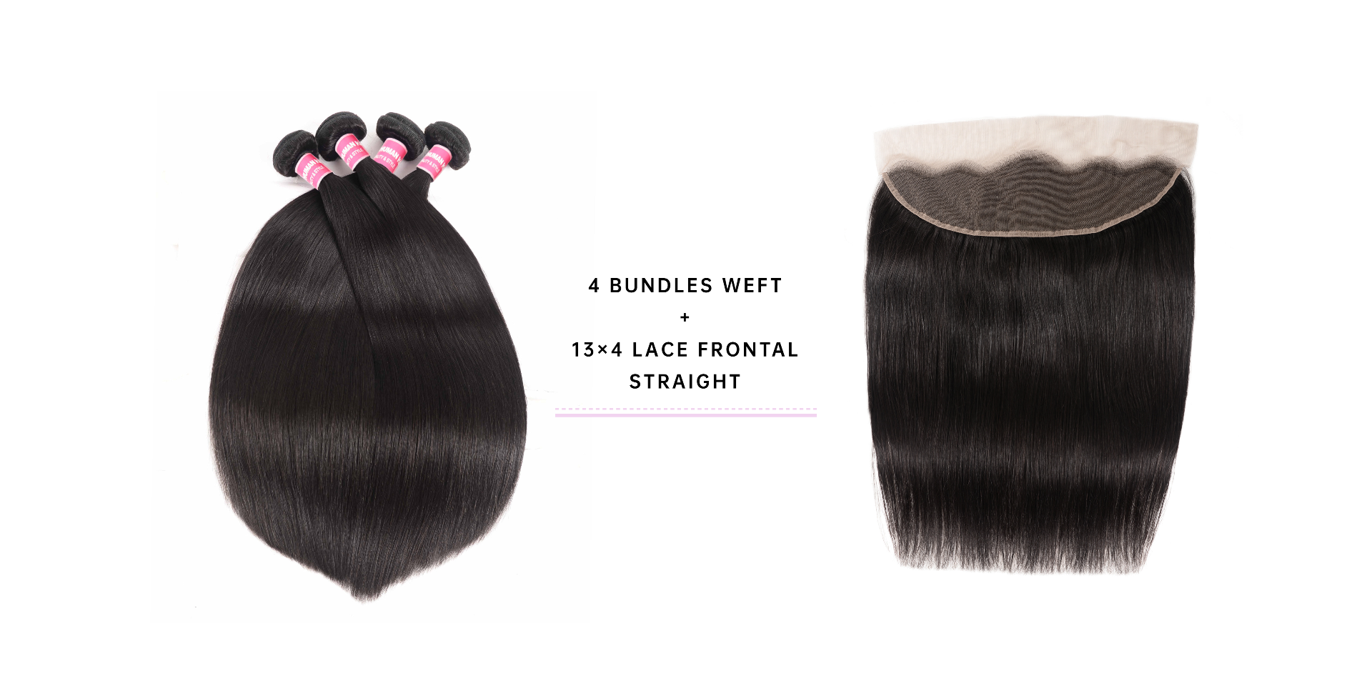 Straight 4 Bundle Deals With Frontal