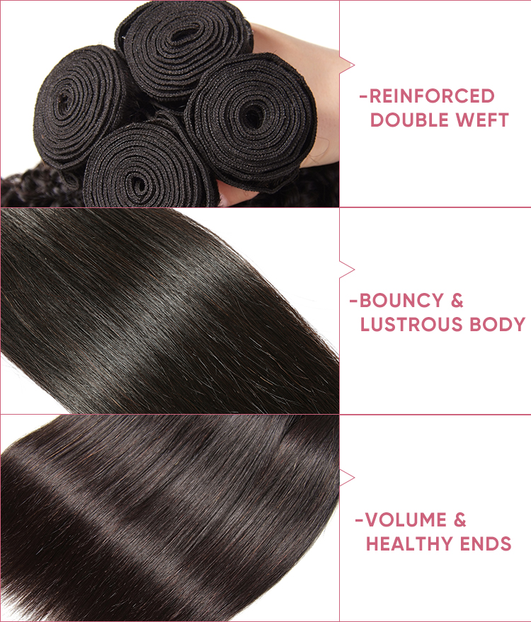 Straight Cheap Bundles With Closure
