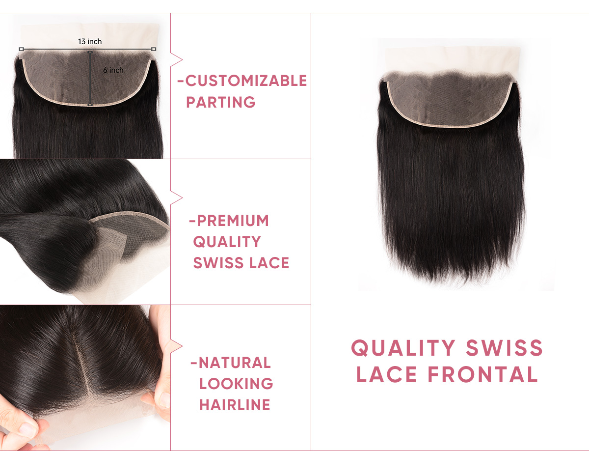 Cheap Straight 4 Bundles With Frontal