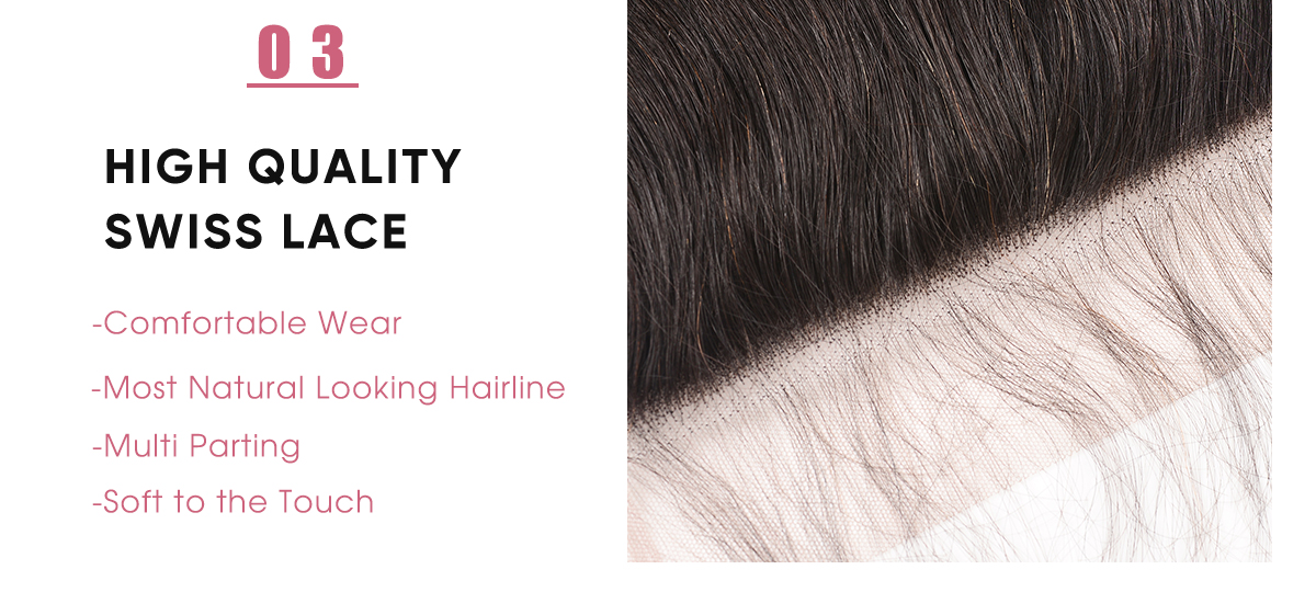 Body Wave Virgin Hair Lace Closure