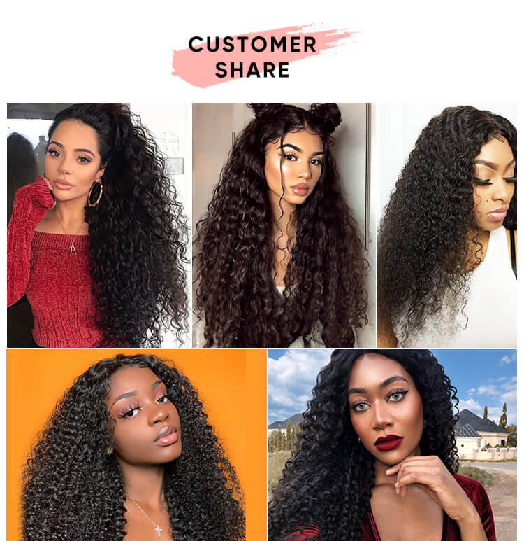 3 Bundles Jerry Curly With Closure Deal