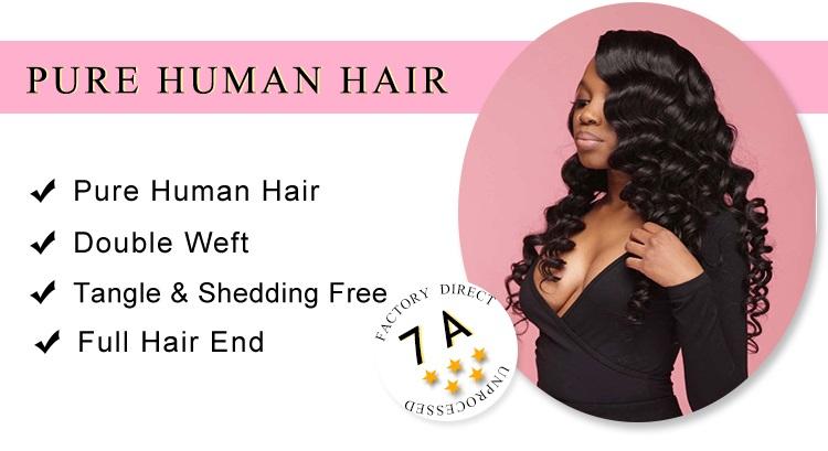Human Hair 4 Bundles Loose Wave Weave