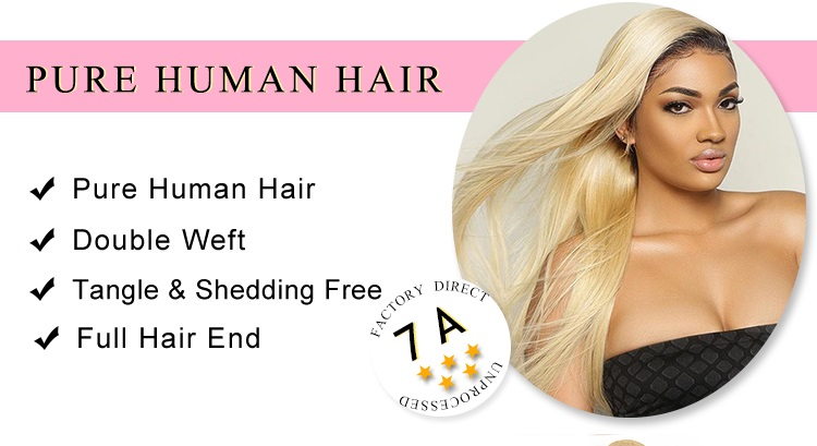 Human Hair Straight hair bundles